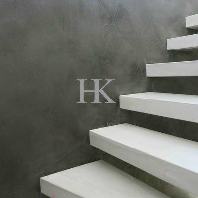 Hk betonlook voor aanrechtbladen tafels en wanden - Betonlook wand ...